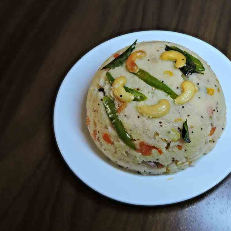 Tomato upma recipe with sooji rava