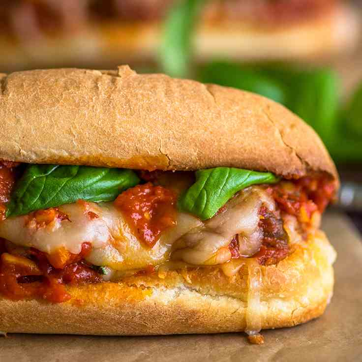 The Perfect Meatball Sandwich Recipe