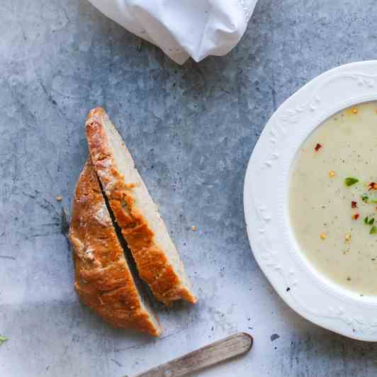 Creamy Chayote Soup