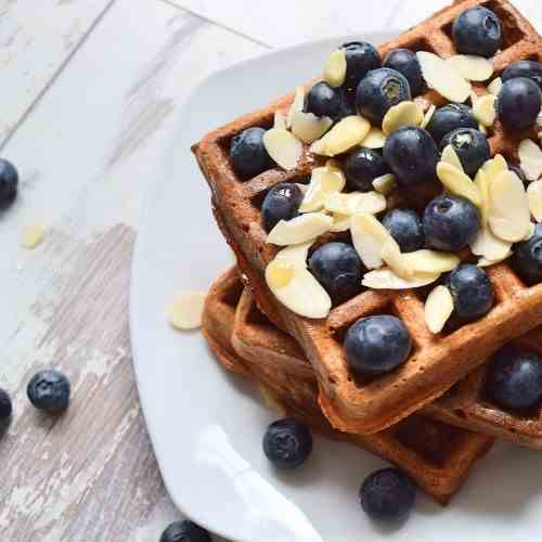 Berry waffles