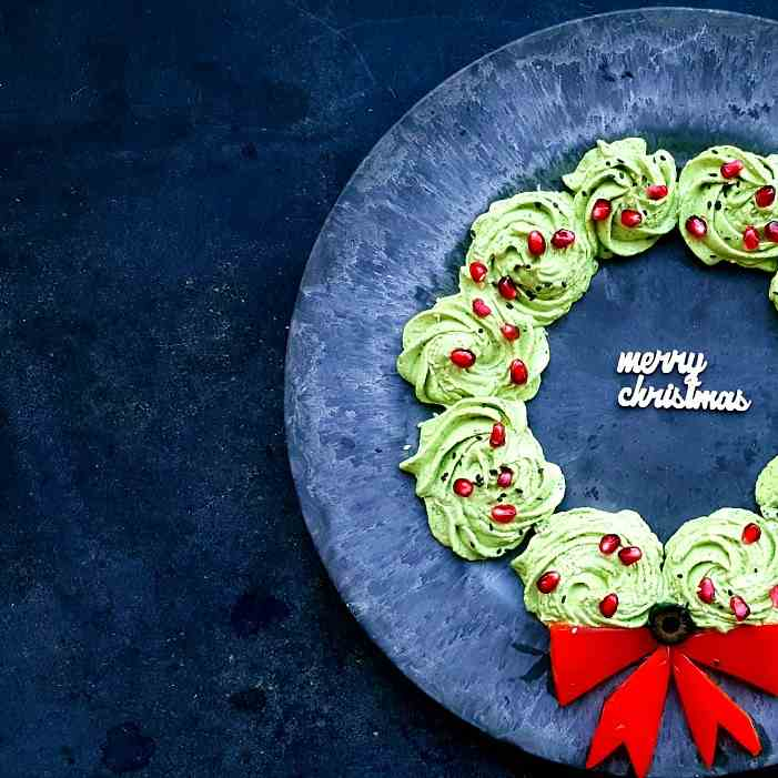 Yummy Christmas wreath