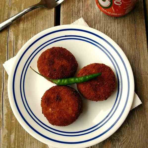 Chicken Kheema Cutlet