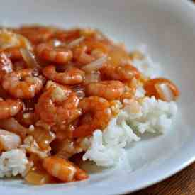 Chinese Shrimp with Tomato Sauce