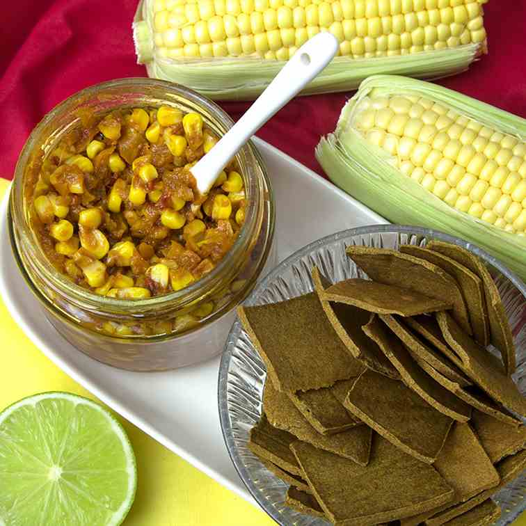 Chilli-Lime Corn Relish