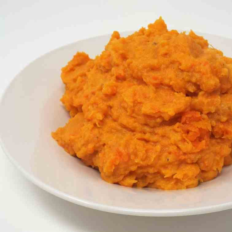 Spicy Sweet Potato and Carrot Mash