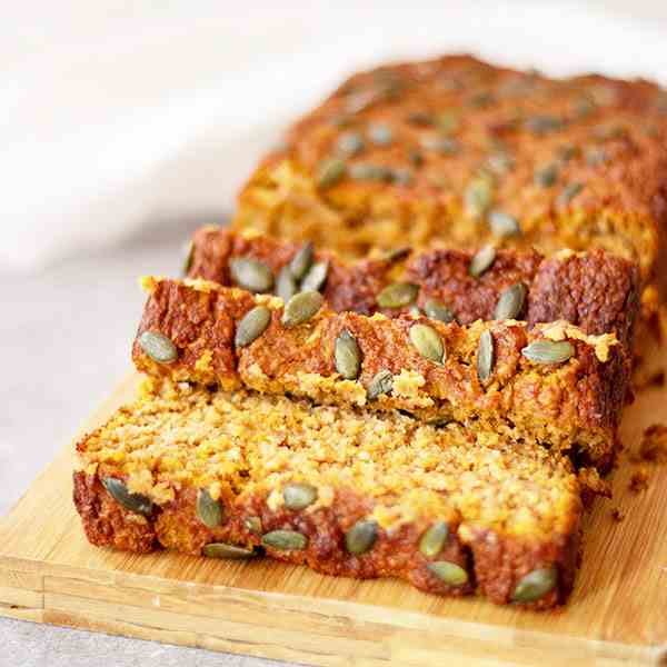 Healthy Gluten-free Pumpkin Bread