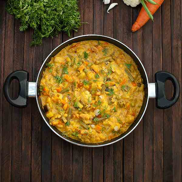 Mixed Vegetable Korma