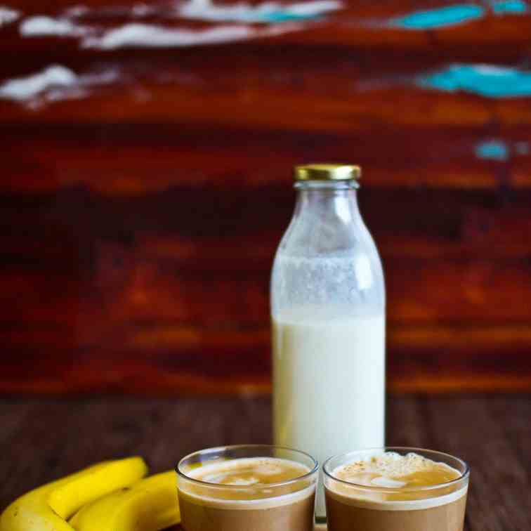 Banana Milk Coffee