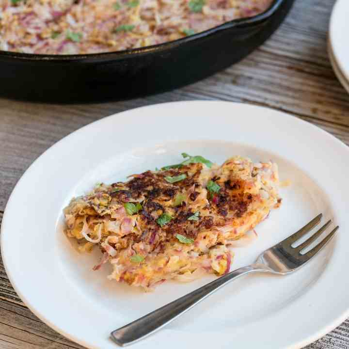 Low Carb Radish Hash Browns