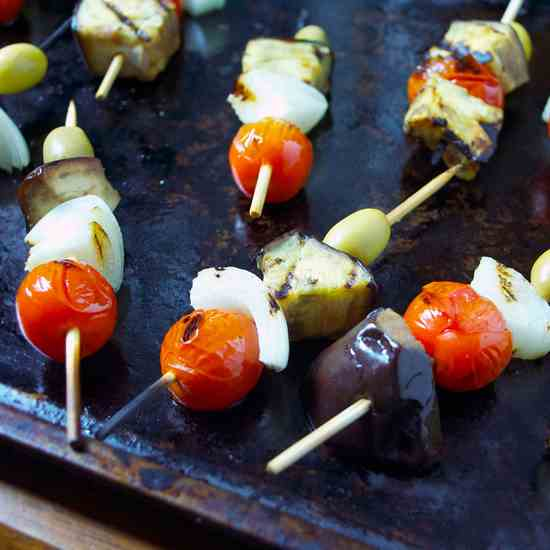 Caponata on a Stick