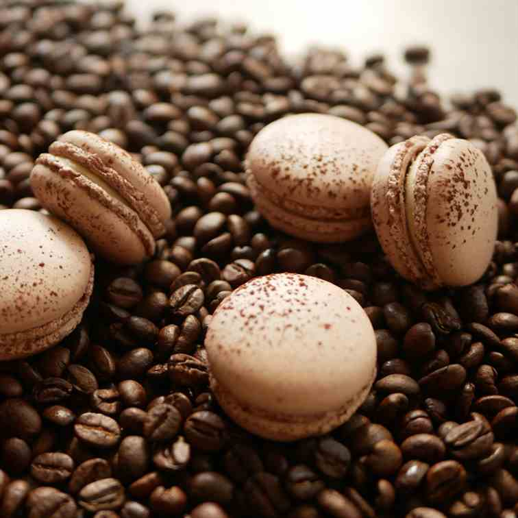 Coffee Mascarpone Macarons