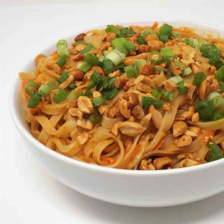 Thai Vegetable Peanut Noodles
