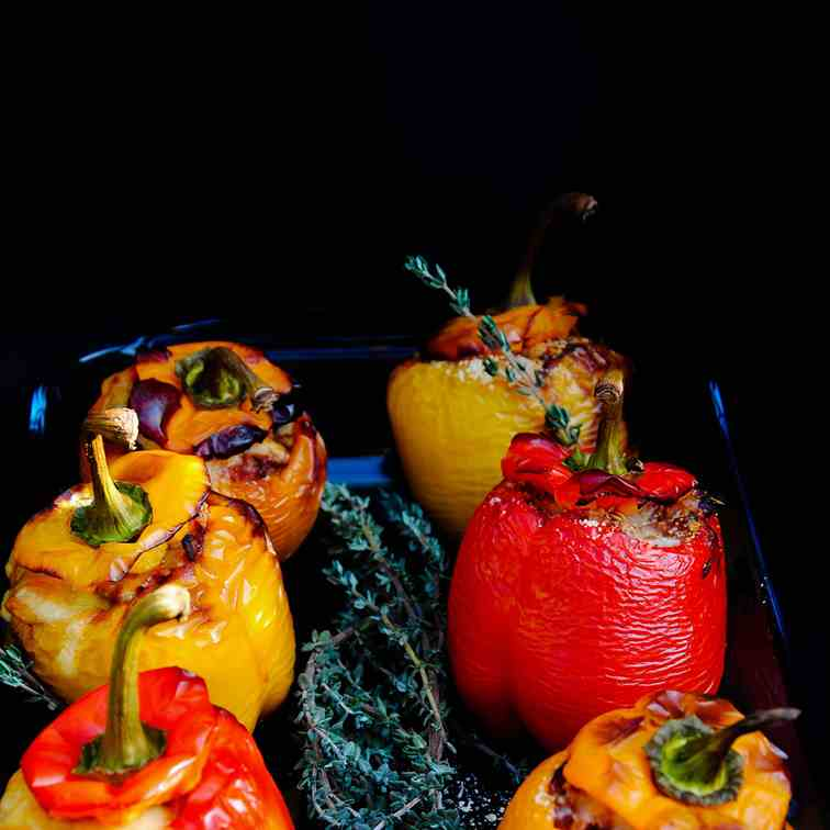 Stuffed bell peppers-