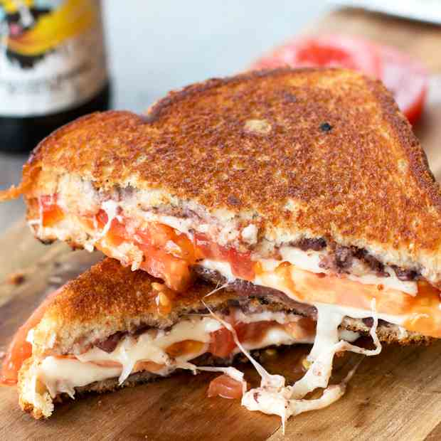 Tomato - Provolone Grilled Cheese