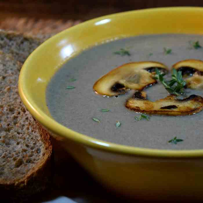Simply Velvet Cream of Mushroom Soup