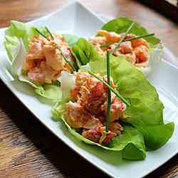 Chilled Sriracha Lobster Salad