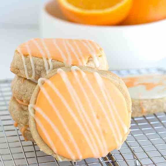 Orange Spice Sugar Cookies