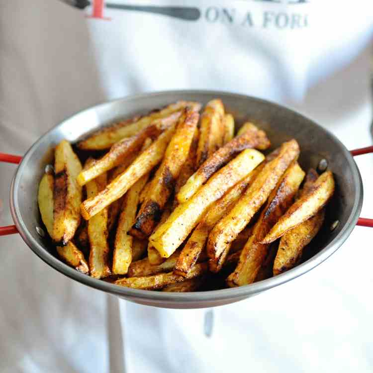 Oven-Baked Crispy French Fries