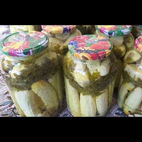 White Cucumber Pickle