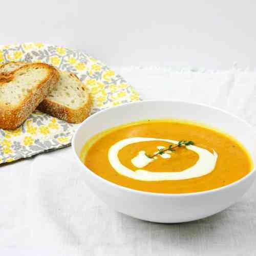 Roasted Carrot & Parsnip Soup