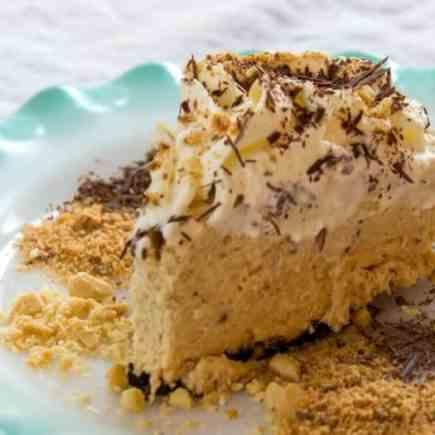 Ought To Be Illegal Butterfinger Pie