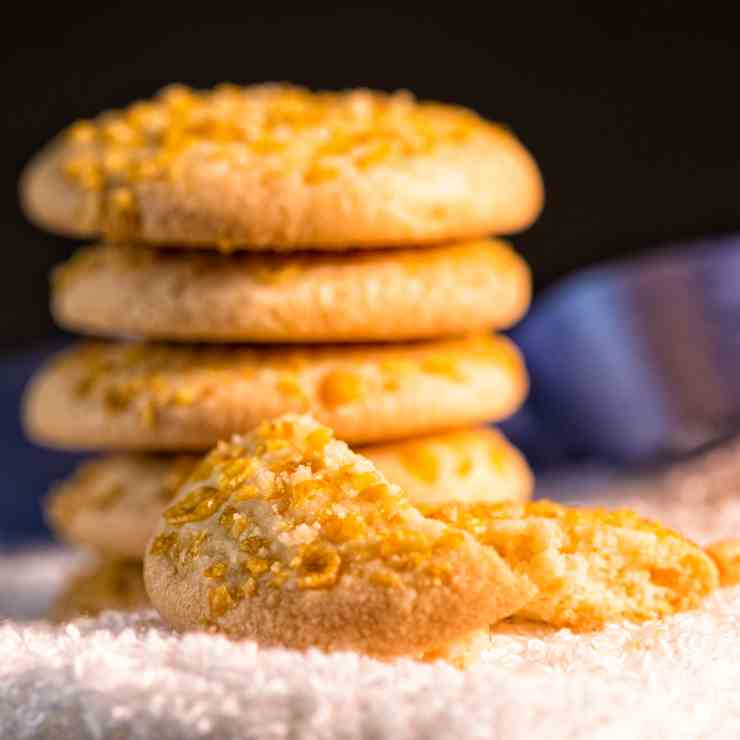 Melting Moments Cookies- Cornflakes Cookie