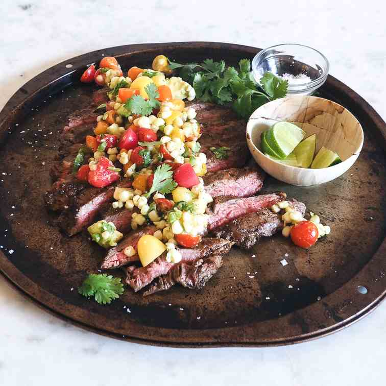 Chile Lime Spice Rubbed Steak