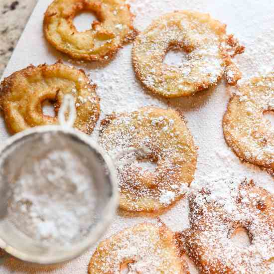 Apple Fritters for Fall
