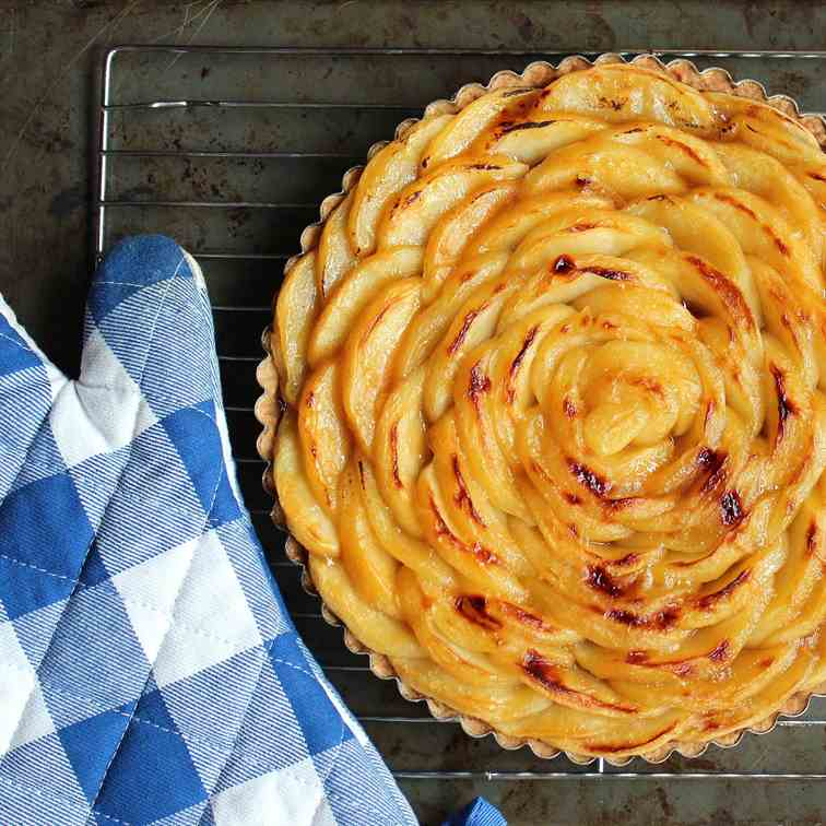 Apple Cherry Tart