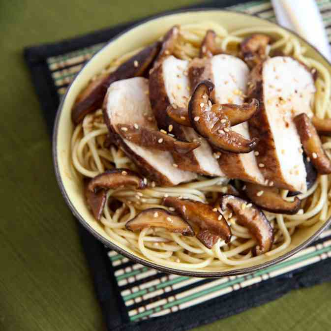 Five Spice Chicken Lo Mein