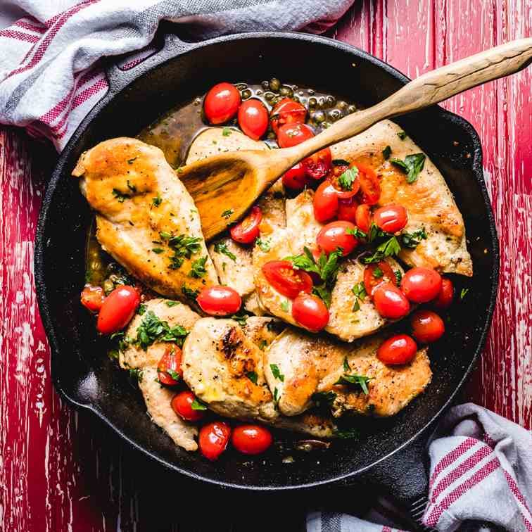 Italian Chicken With Capers