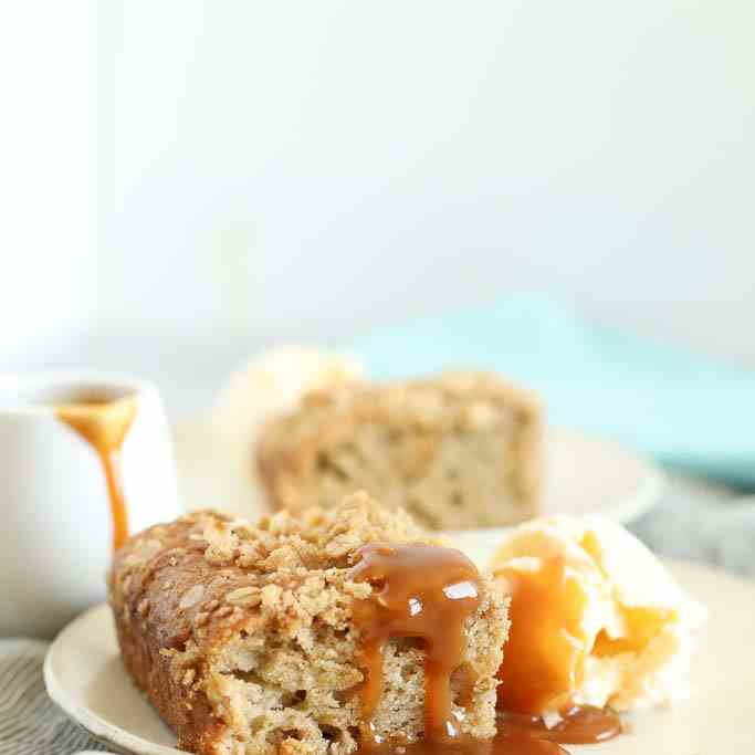 Apple Crumble Breakfast Muffin Tray Bake