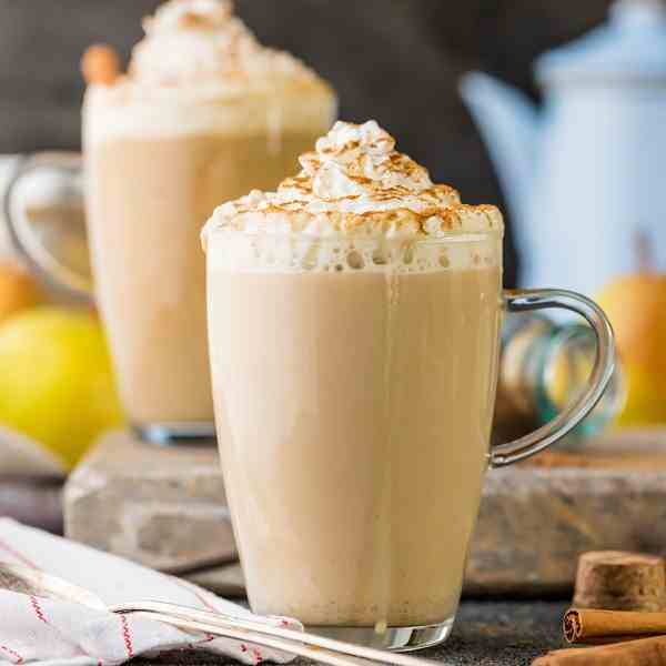 Pear Spice Latte