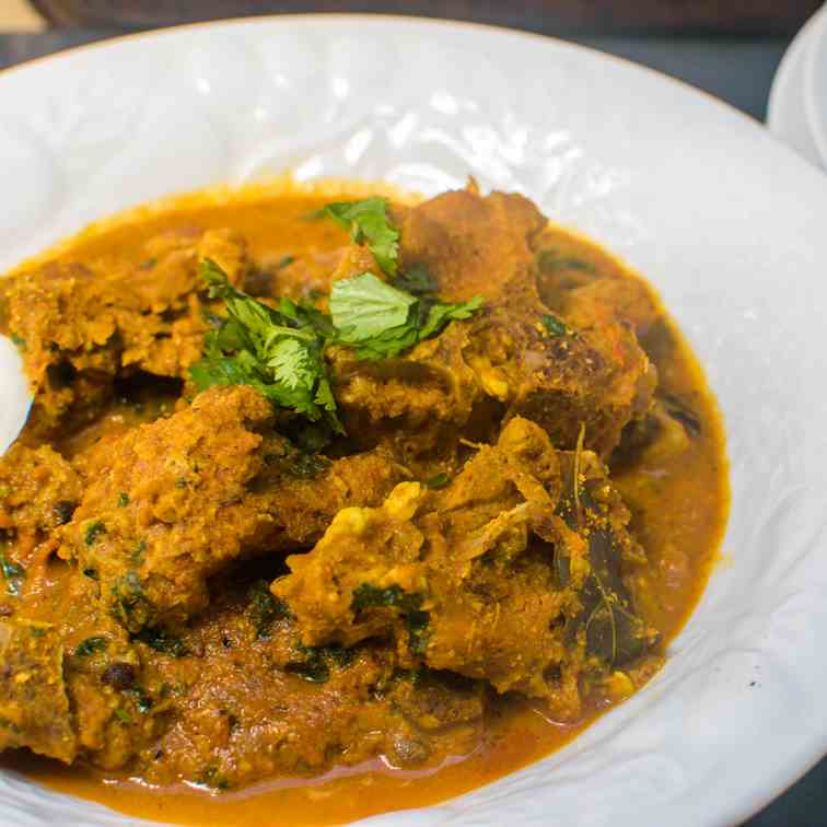 Chettinad Mutton - Chettinad Goat Curry