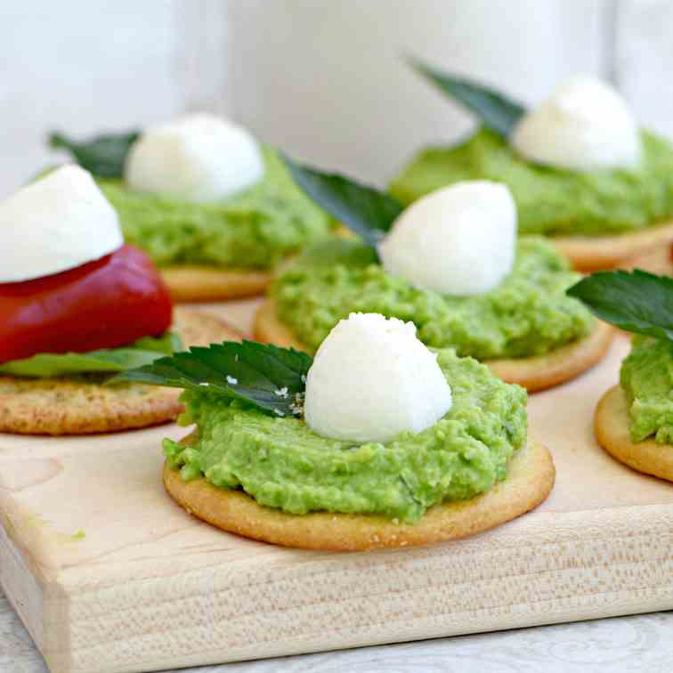 Fava Bean and Pea Spread
