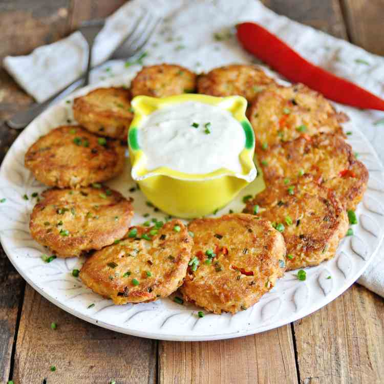 Spicy Spanish Tuna Cakes