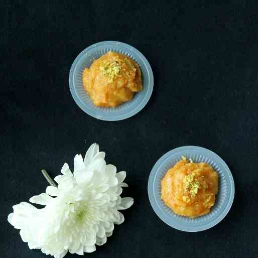Almond Halwa with Carrot