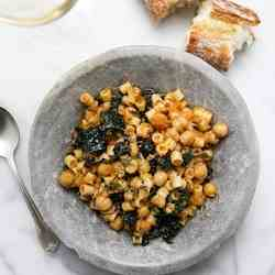 Ditalini with Chickpeas
