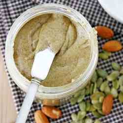 Almond-Pumpkin Seed Butter