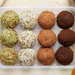 Almond and Coconut Bliss Balls