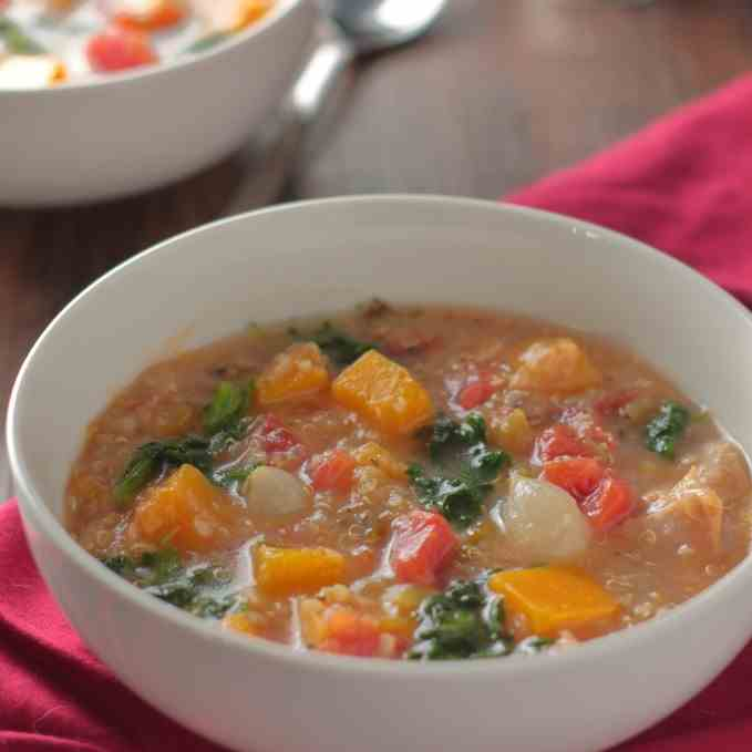 Chicken Stew with Butternut Squash