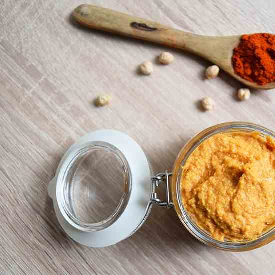 Smoked Paprika Hummus Recipe