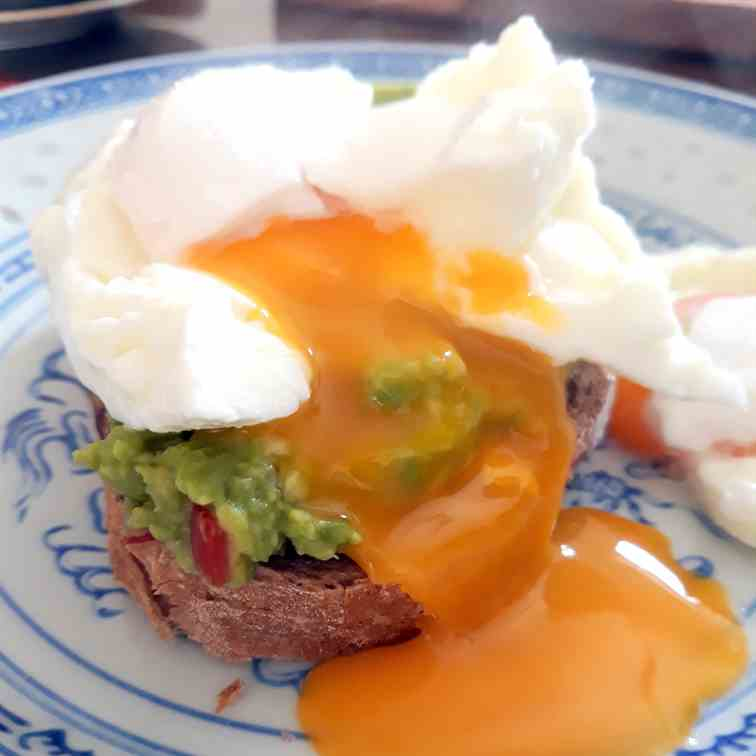 Poached Egg on Avocado Bread