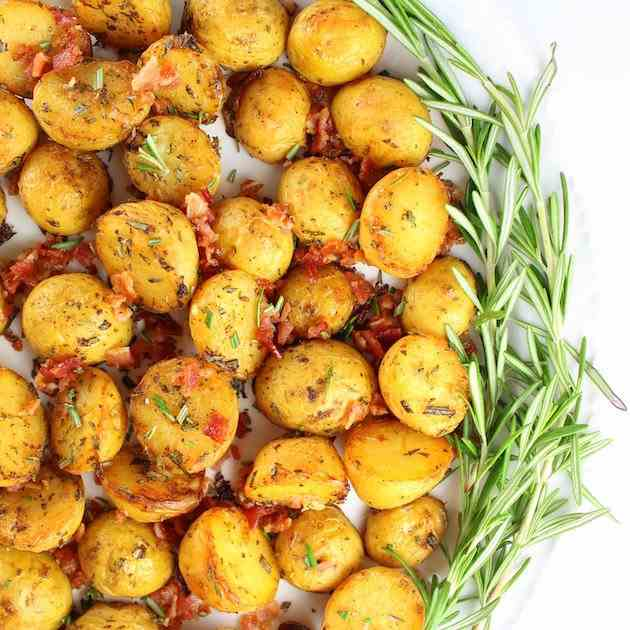 Smoky Salt - Vinegar Potatoes