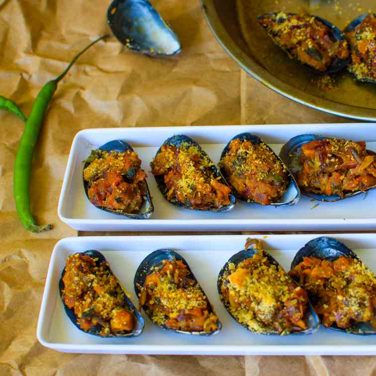 Stuffed Mussels - Delicious Seafood Appeti