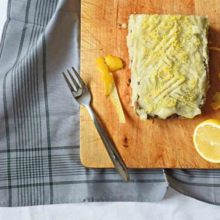 The Easiest Lemon Icing