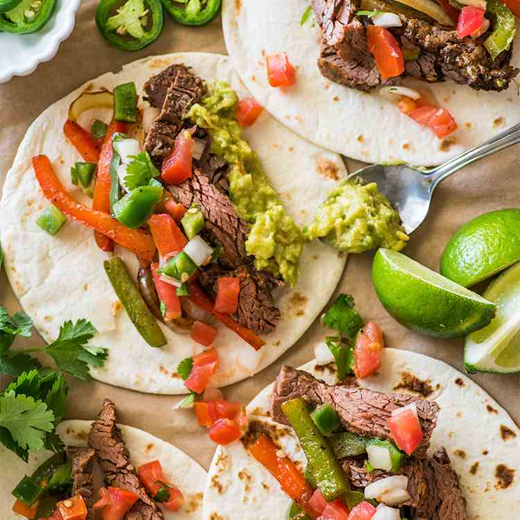 Awesome Steak Fajitas