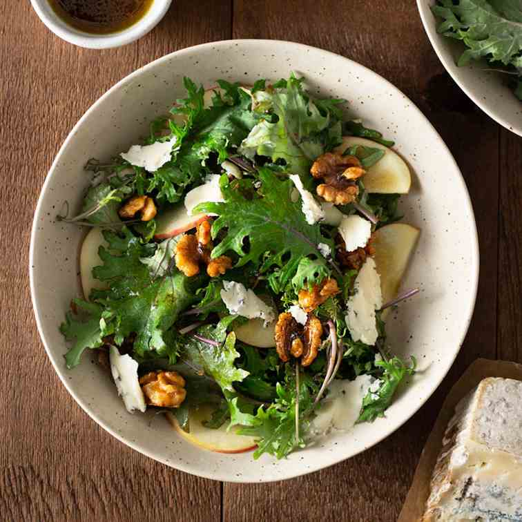Baby Kale and Apple Salad