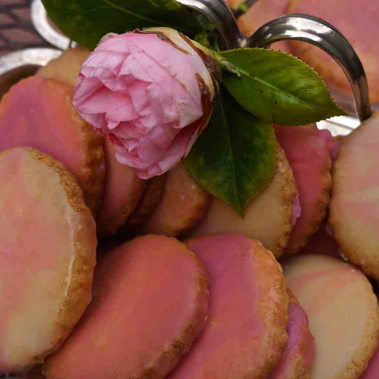 Pink Grapefruit Cookies