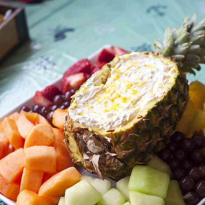 Pineapple & Citrus Fruit Dip